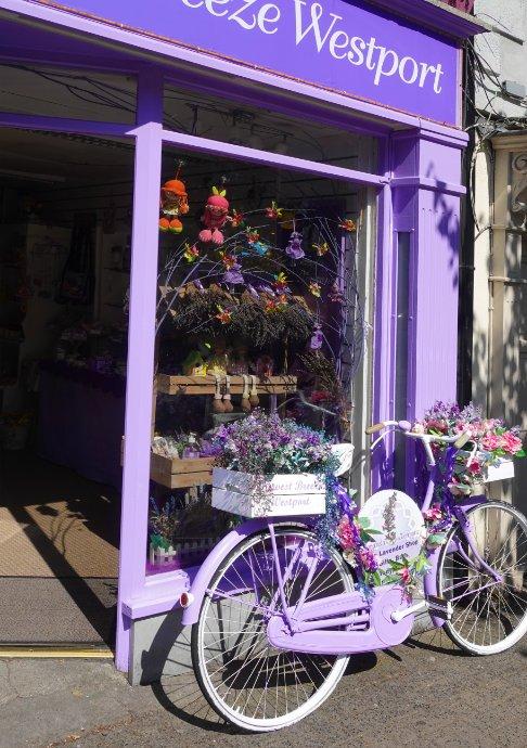 Fahrrad Shop-Deko