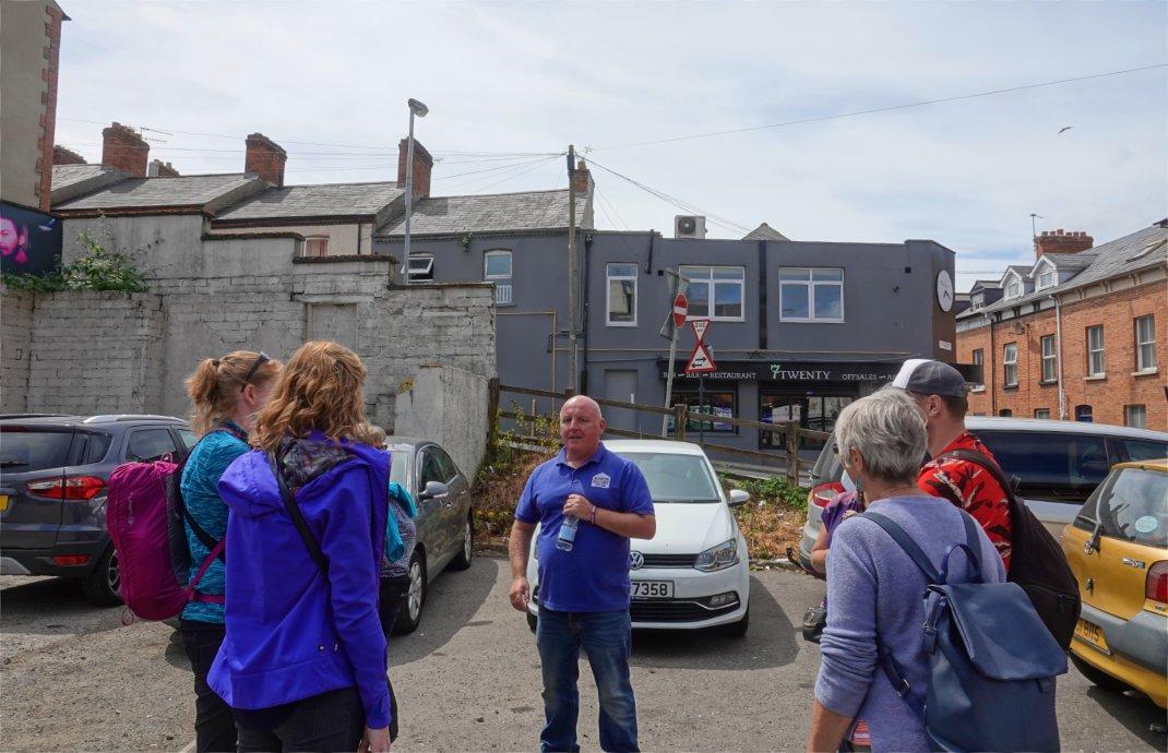 """Paul, unser Guide für die """"Bogside"""" Führung"""