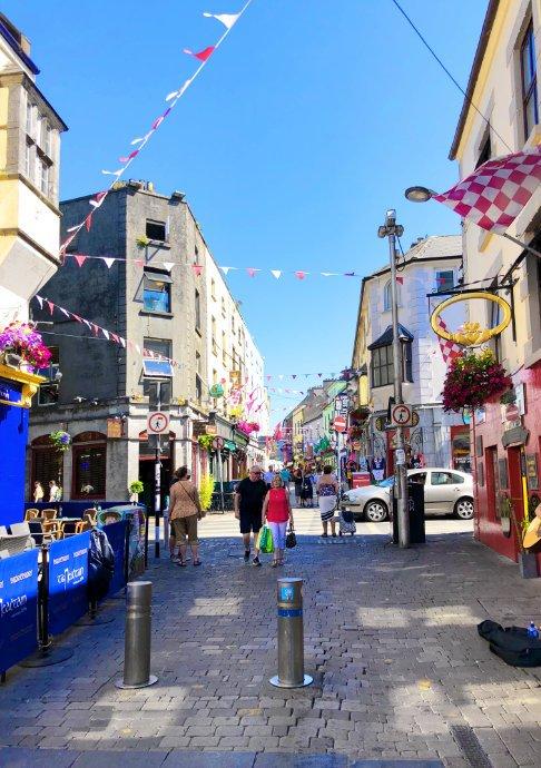 Galway Fußgängerzone