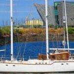 Belfast Hafenpanorama