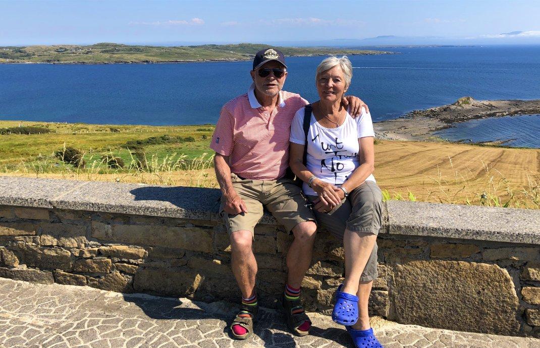 Fototermin vor der malerischen Bucht von Sligo