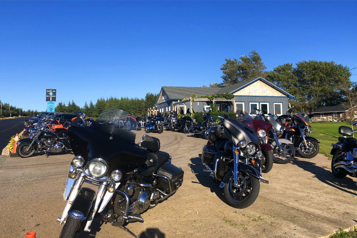 Biker Invasion in Port Hood