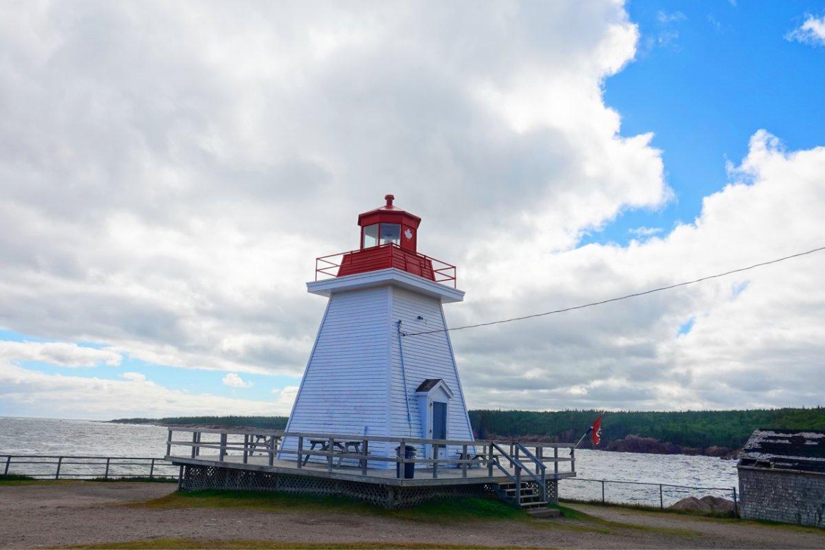 Neils Harbour Leuchtturm