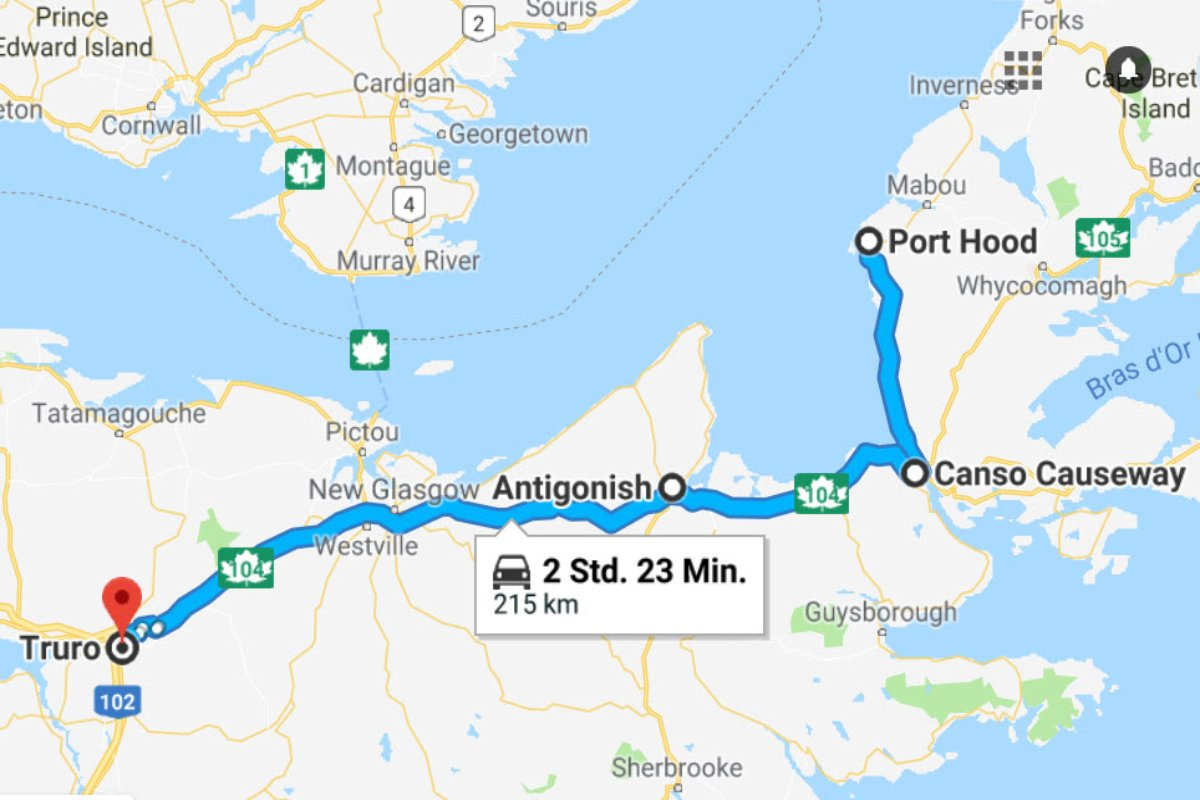 Port Hood - Antigonish - Truro