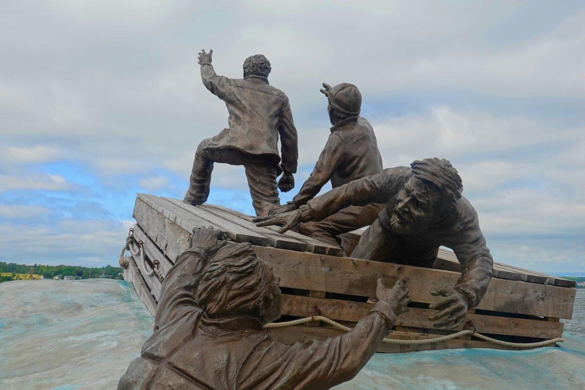 Seefahrerdenkmal im Sydney Hafen