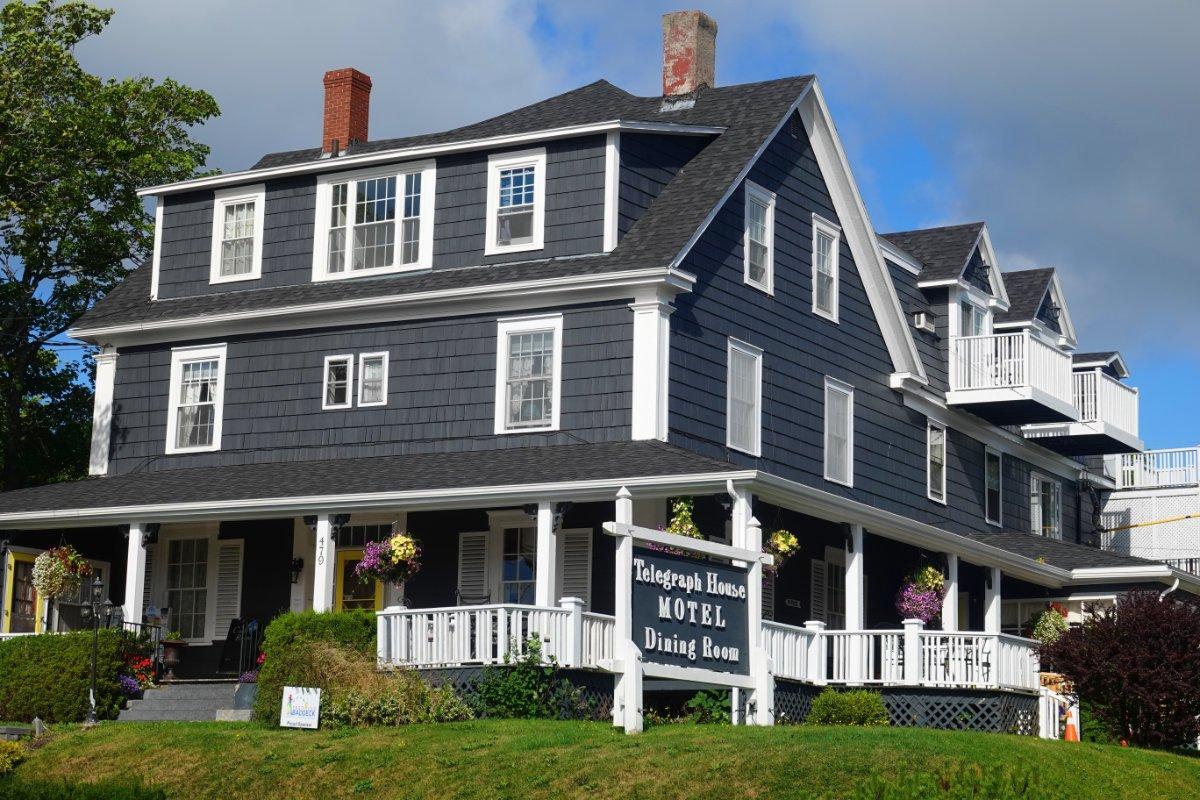Telegraph-House Motel (war uns zu teuer)