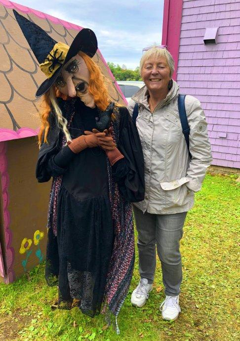 Anne mit Hexe