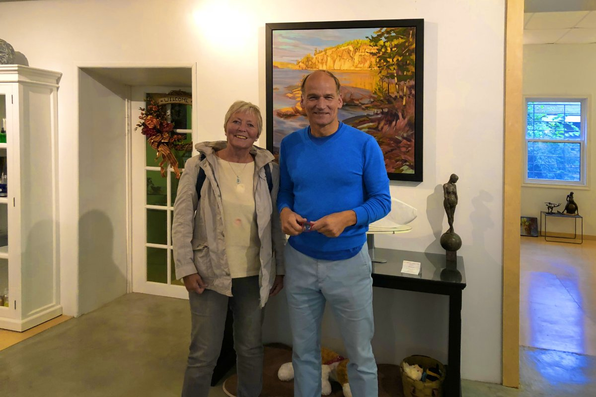 Anne mit Dr. Matthias Jaepel