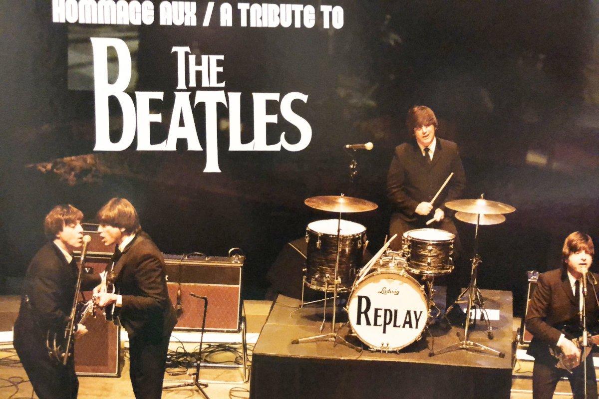 Plakat für das Beatles Tribut Konzert