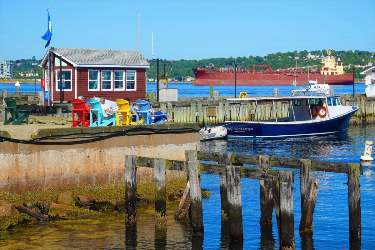 Halifax Hafenszene