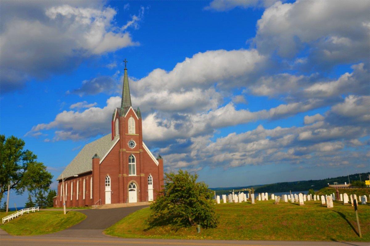 Kirche von Iona, gelegen auf dem Weg nach Sydney