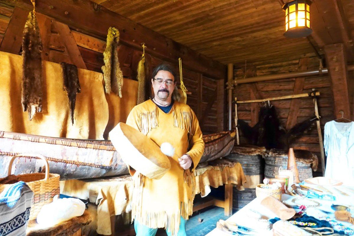 Mi'kmaq Indianer Robert McEwan