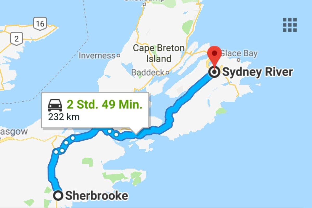 Sherbrooke - Sydney (NS)