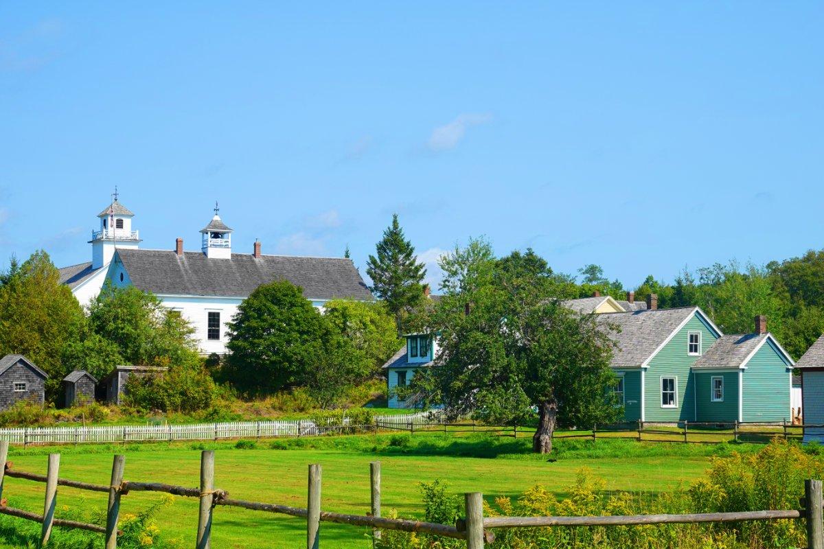 Teil des Museumsdorfes Sherbrooke Village