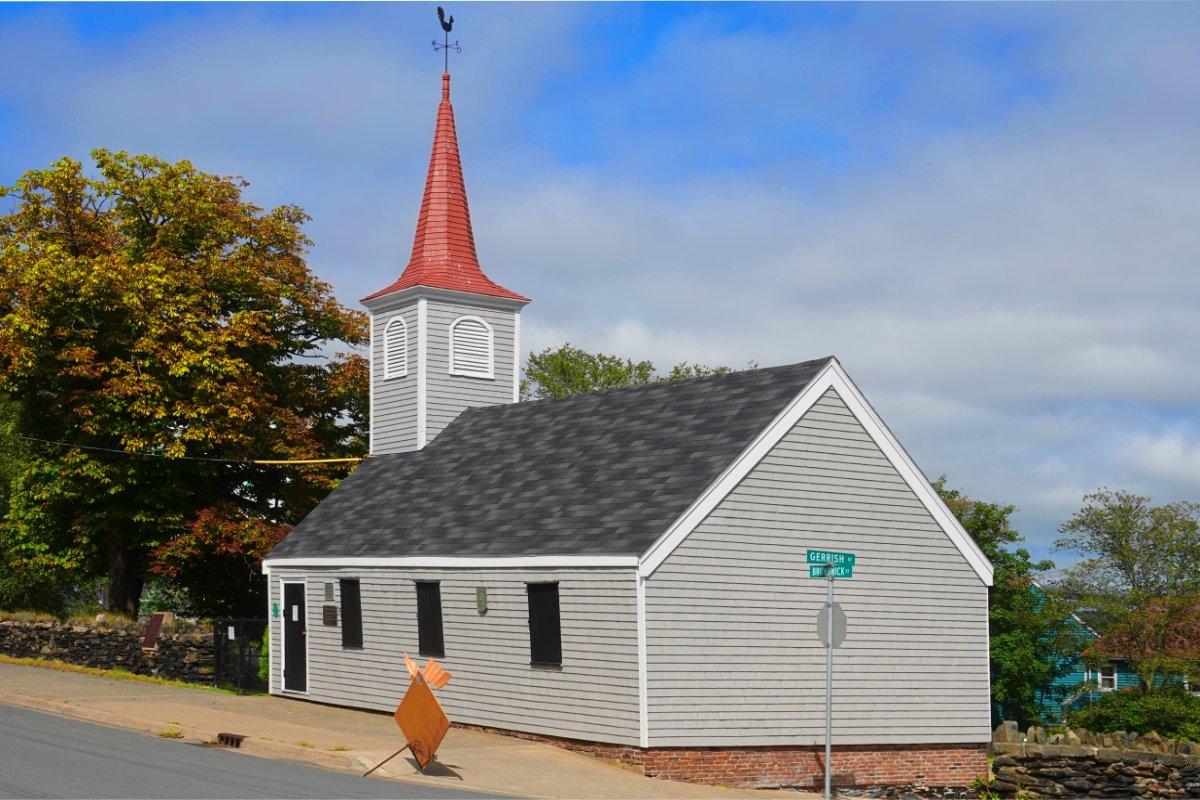 """The """"Little Dutch Church"""""""