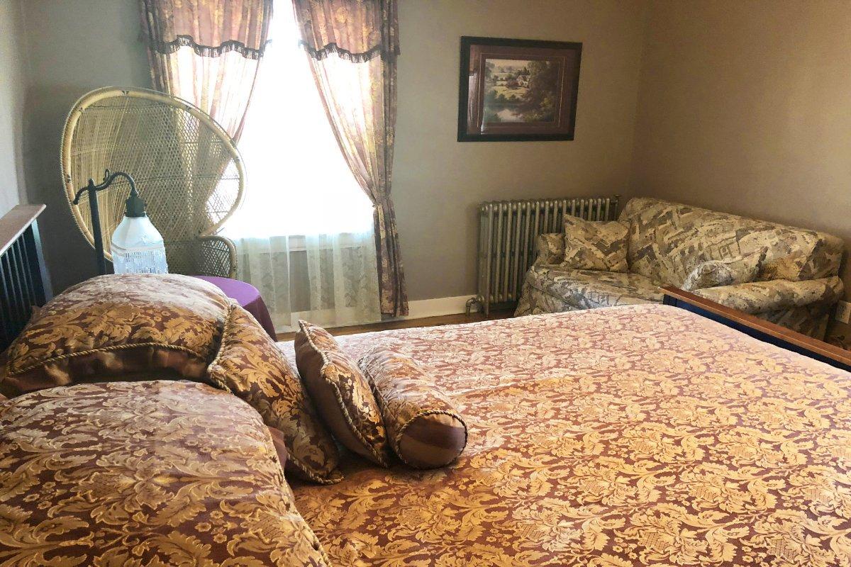 Unser Zimmer in der Jeddore Lodge