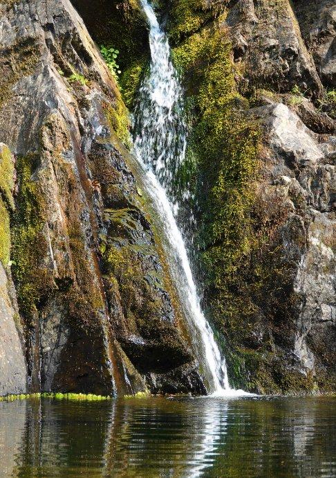 Wasserfall im Victoria Park