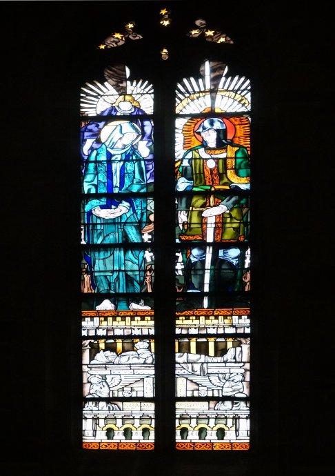 Bleiverglastes Fenster