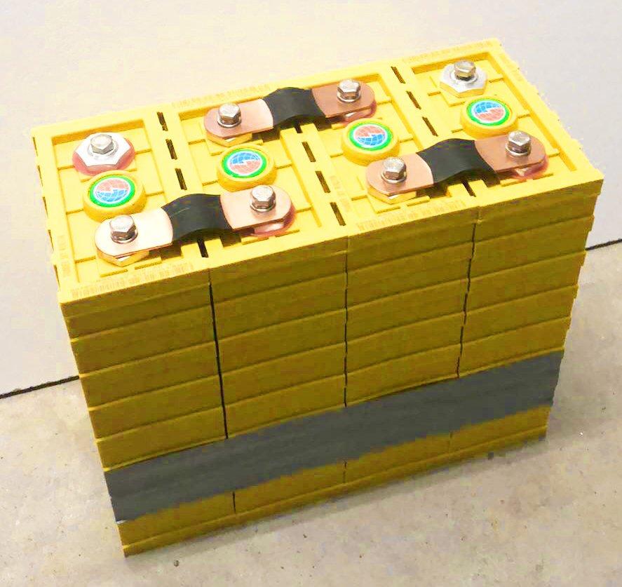 Unsere 160 A/h Lithium-Batterie