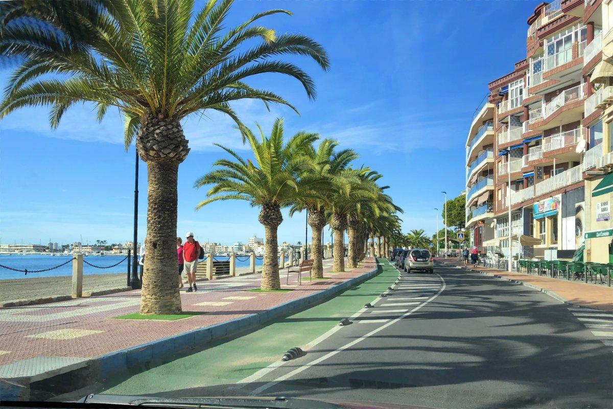 Strandpromenade in San Pedro