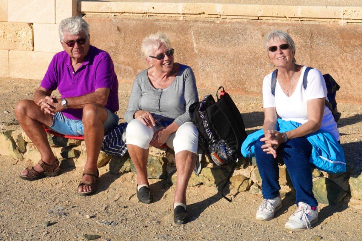 Anne mit Christa und Reinhard