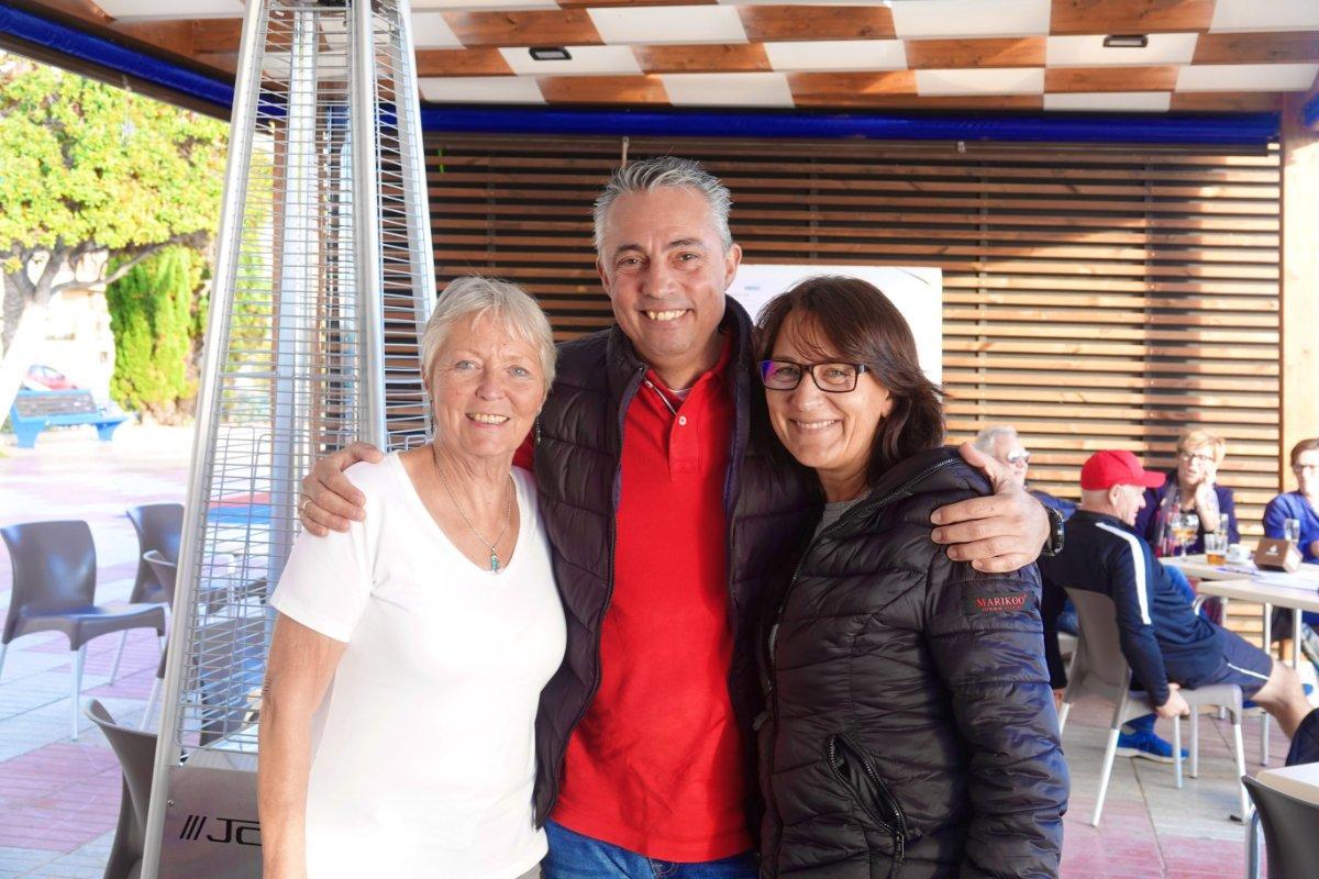 Anne mit Ralf und Corrina