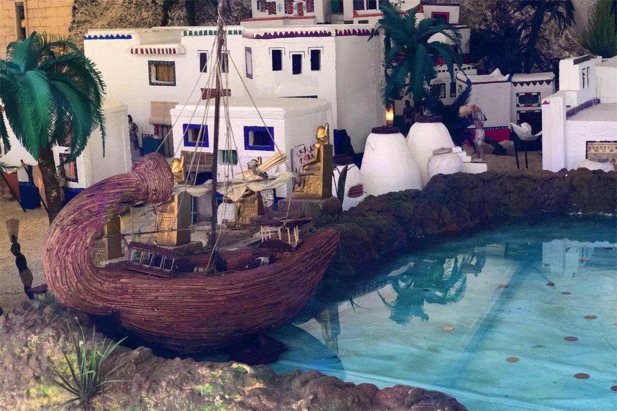 Die Krippe in Rojales