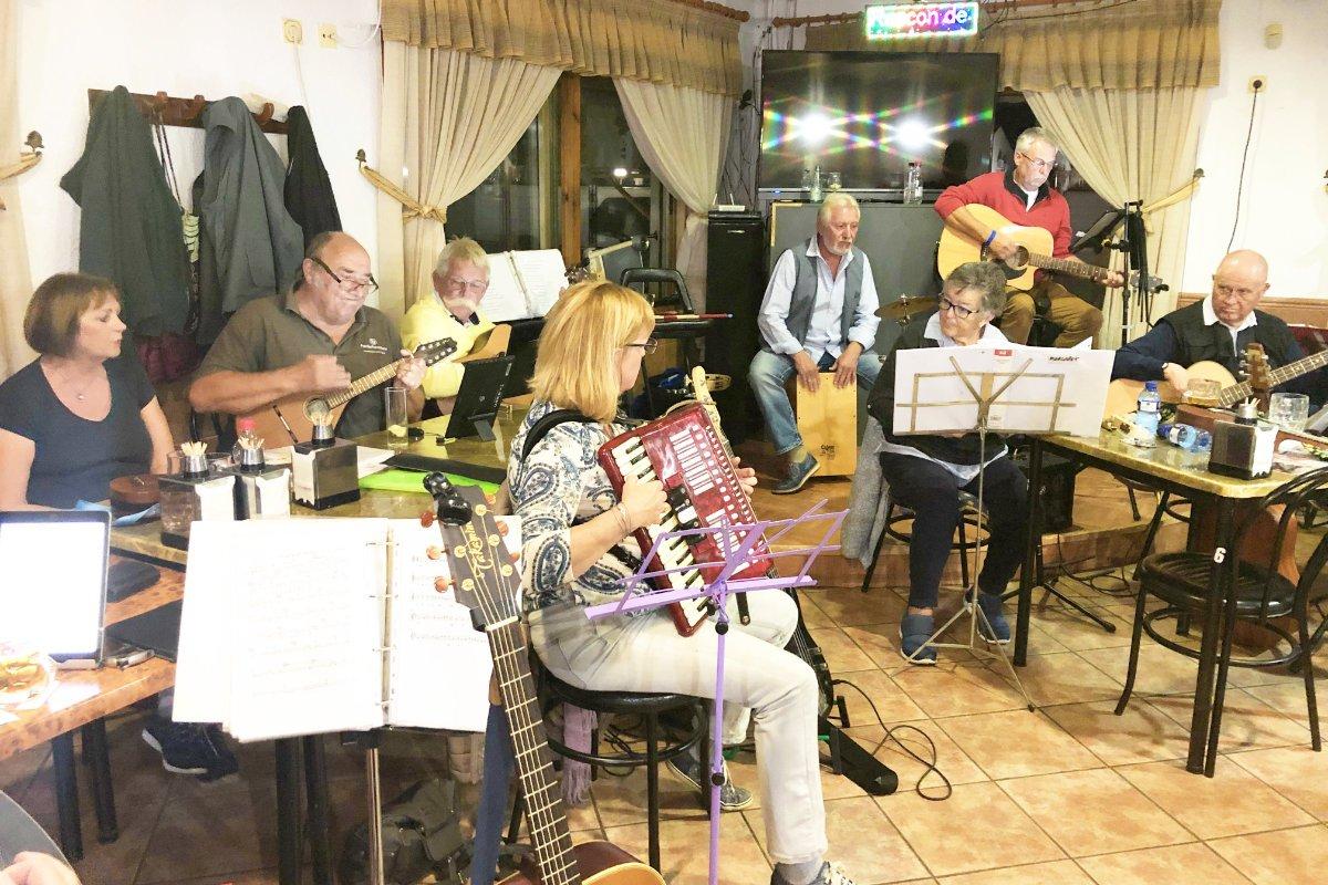 Musikabend bei Maria und José