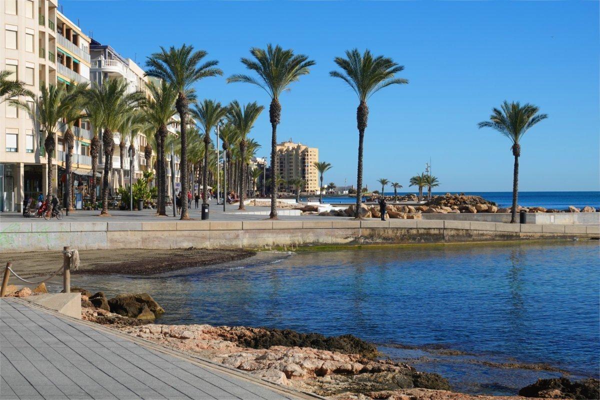 Strandpromenade Torrevieja