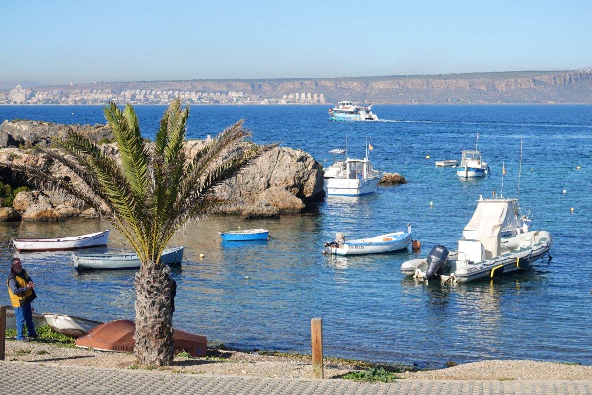 Tabarca Hafen