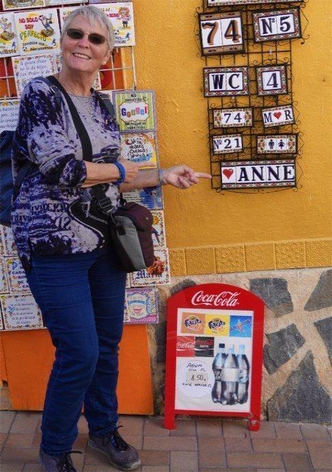 Anne in der Altstadt