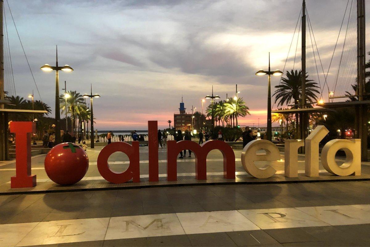 Abendstimmung in Almeria