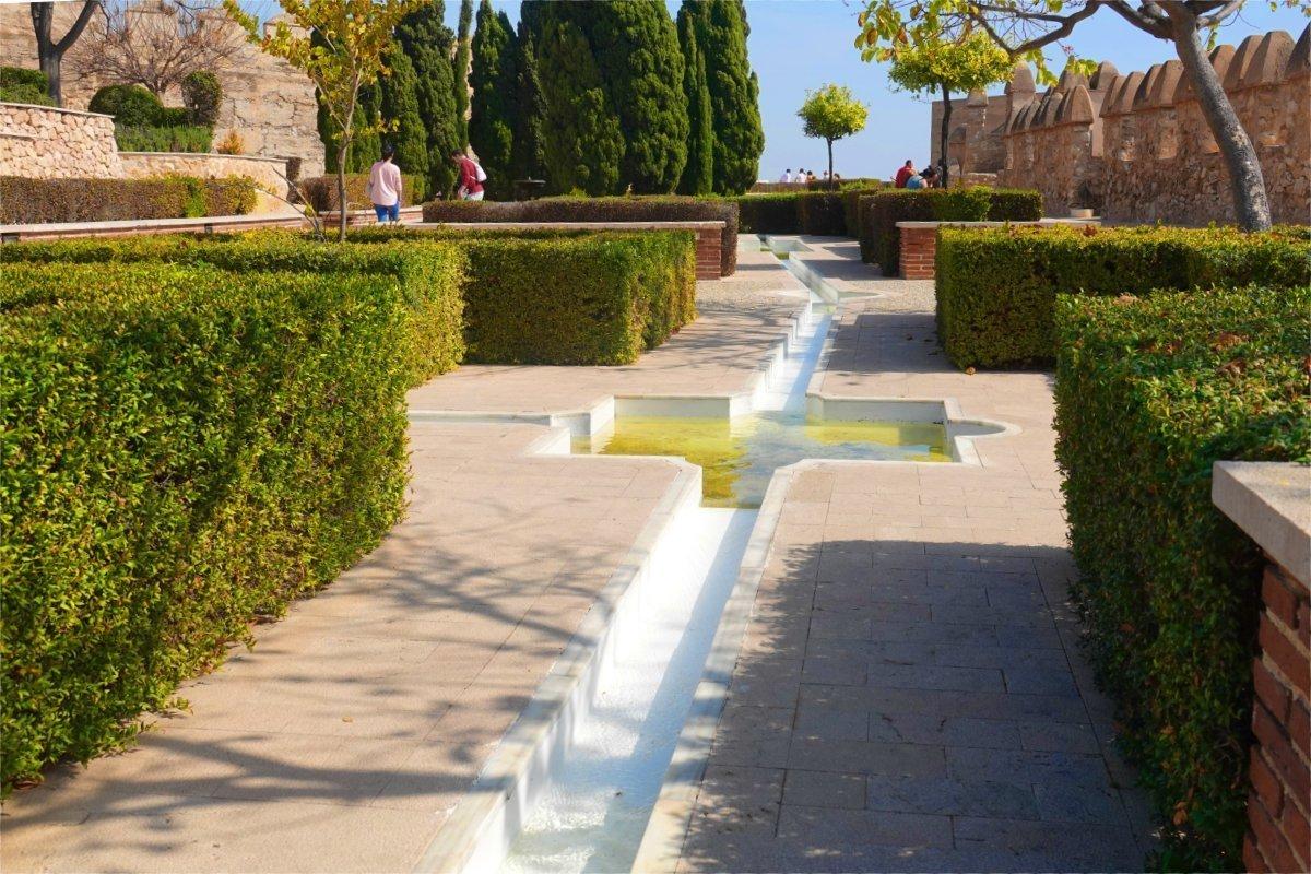 Alcazaba Wasserkanal