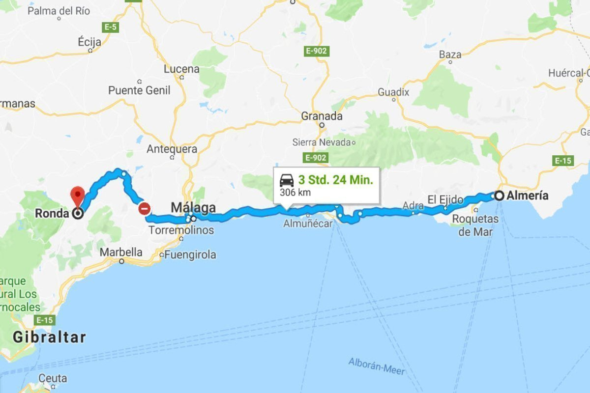 Almeria - Ronda