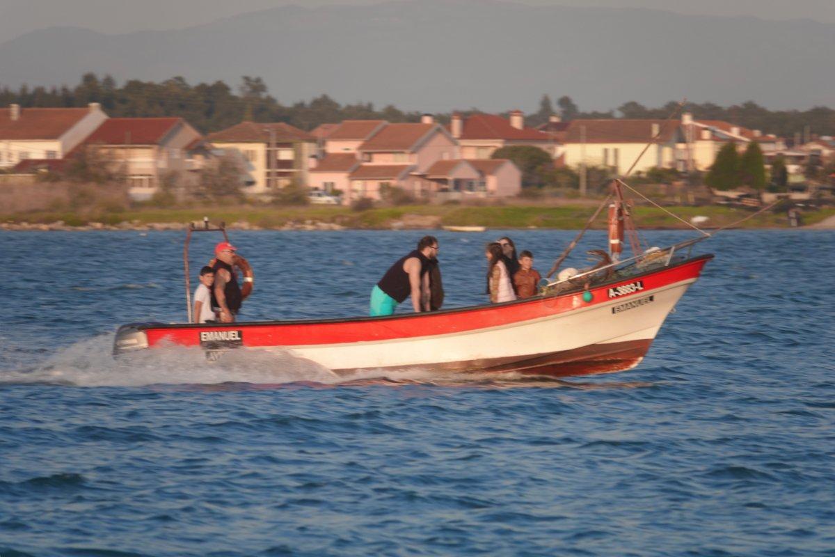 Ausfahrt zum abendlichen Fischfang