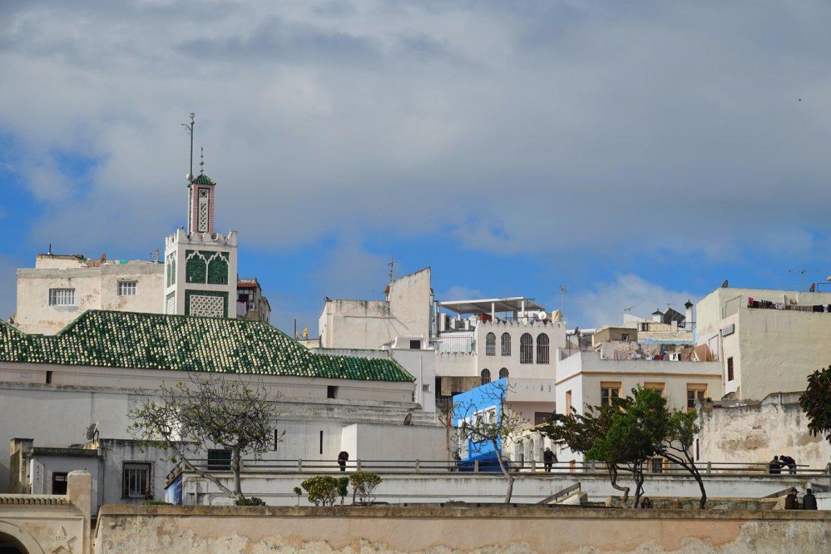 Blick auf die Altstadt vom Hafen aus