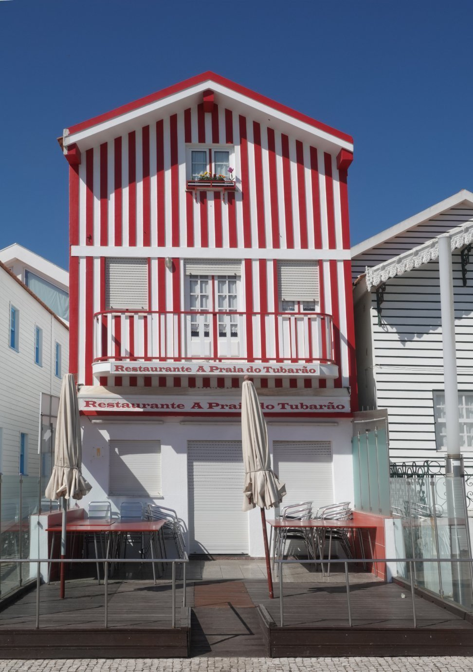 Costa Novas bunte Häuser