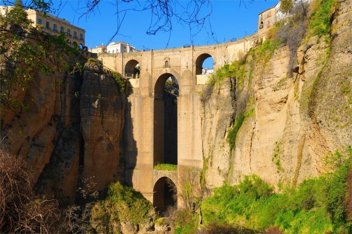 """Die berühmte Brücke """"Puente Nuevo"""""""