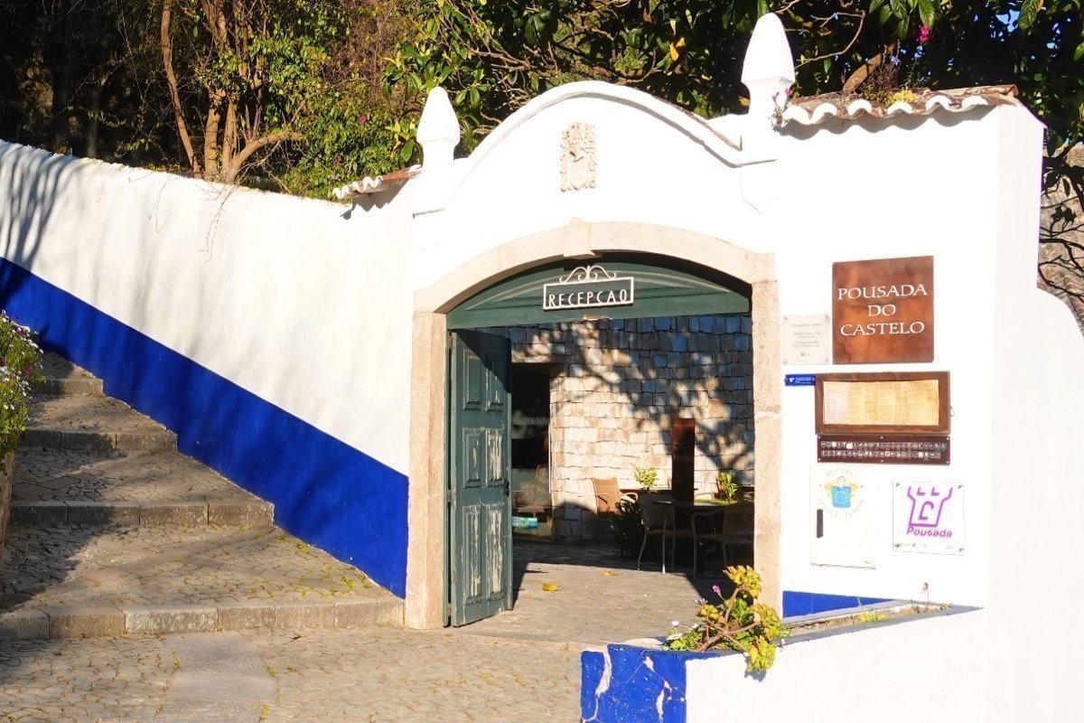 Eingang zum Hotel Pousada
