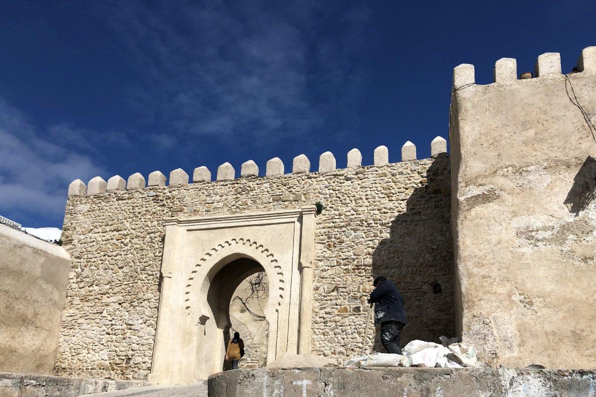 Eingang zur Kasbah