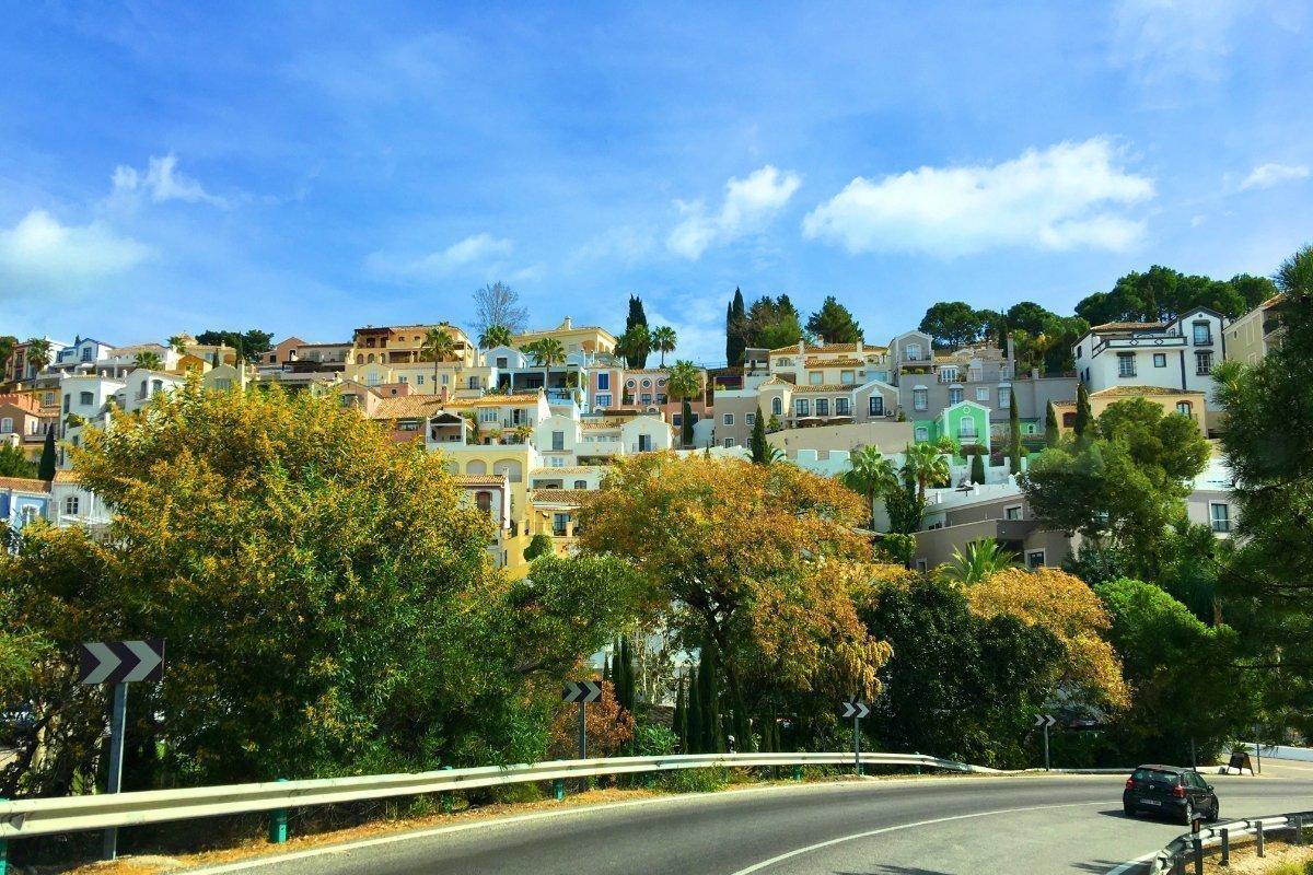 Endlich wieder Zivilisation - El Madroñal