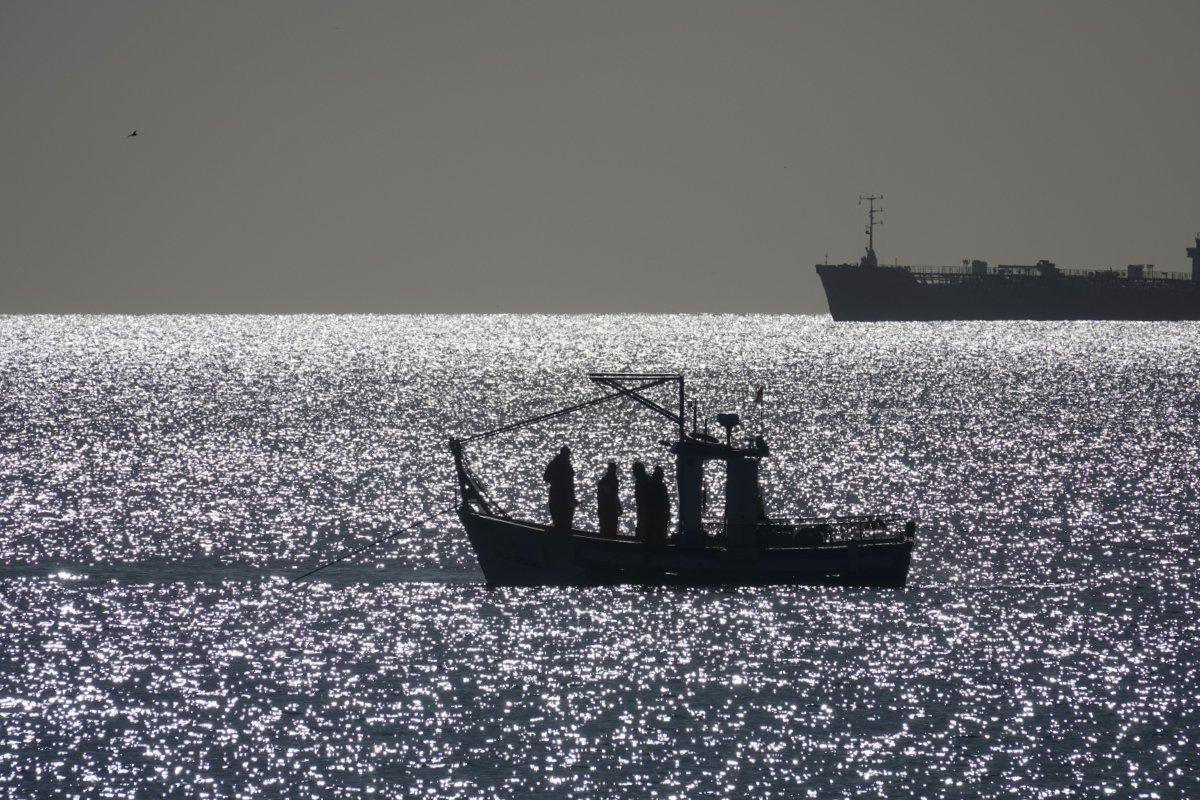 Fischer am frühen Morgen