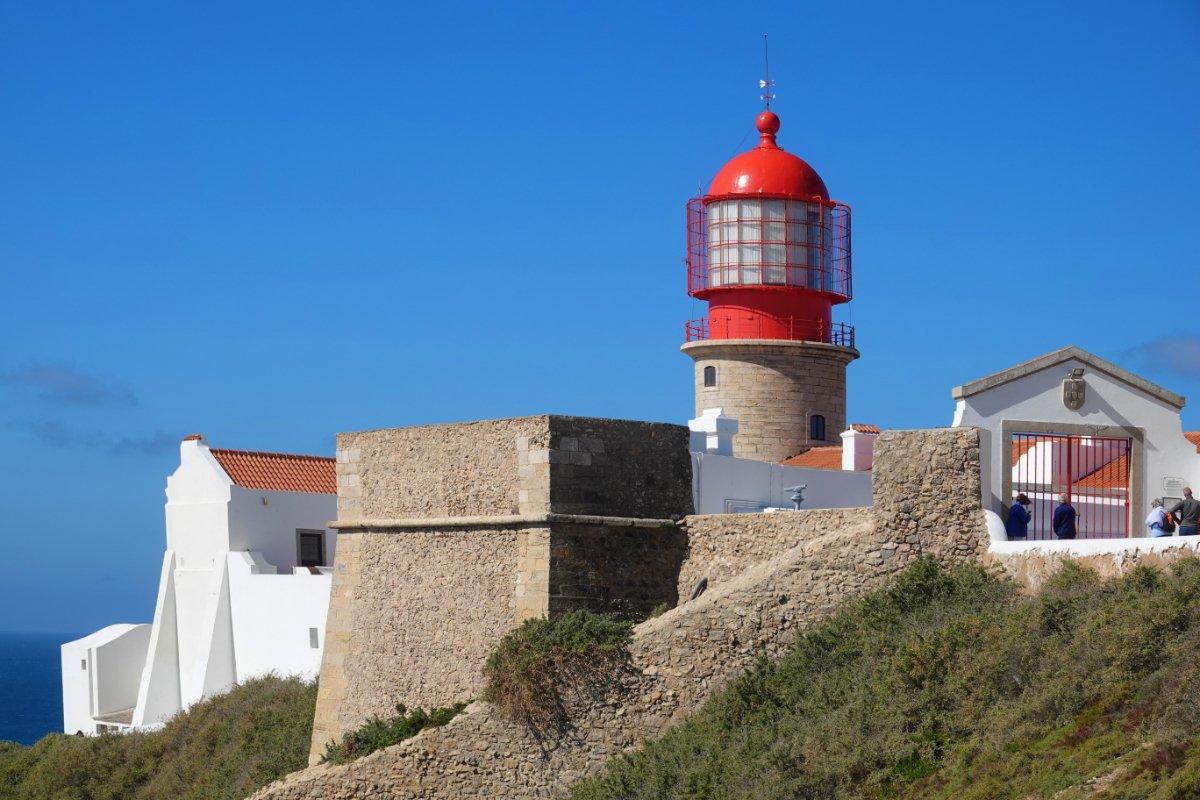 Leuchtturm am Cabo de Vincente
