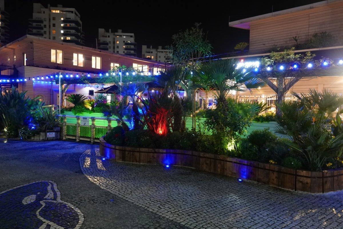 Abendliche Atmorphäre in der Ocean Village