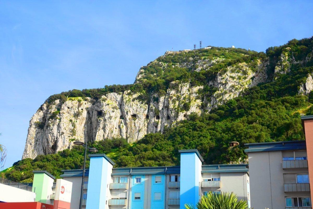 Der berühmte Felsen von Gibraltar