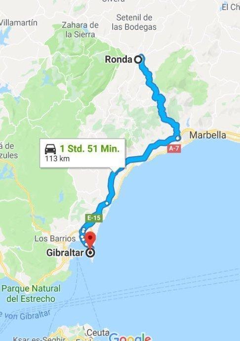 Ronda - Gibraltar