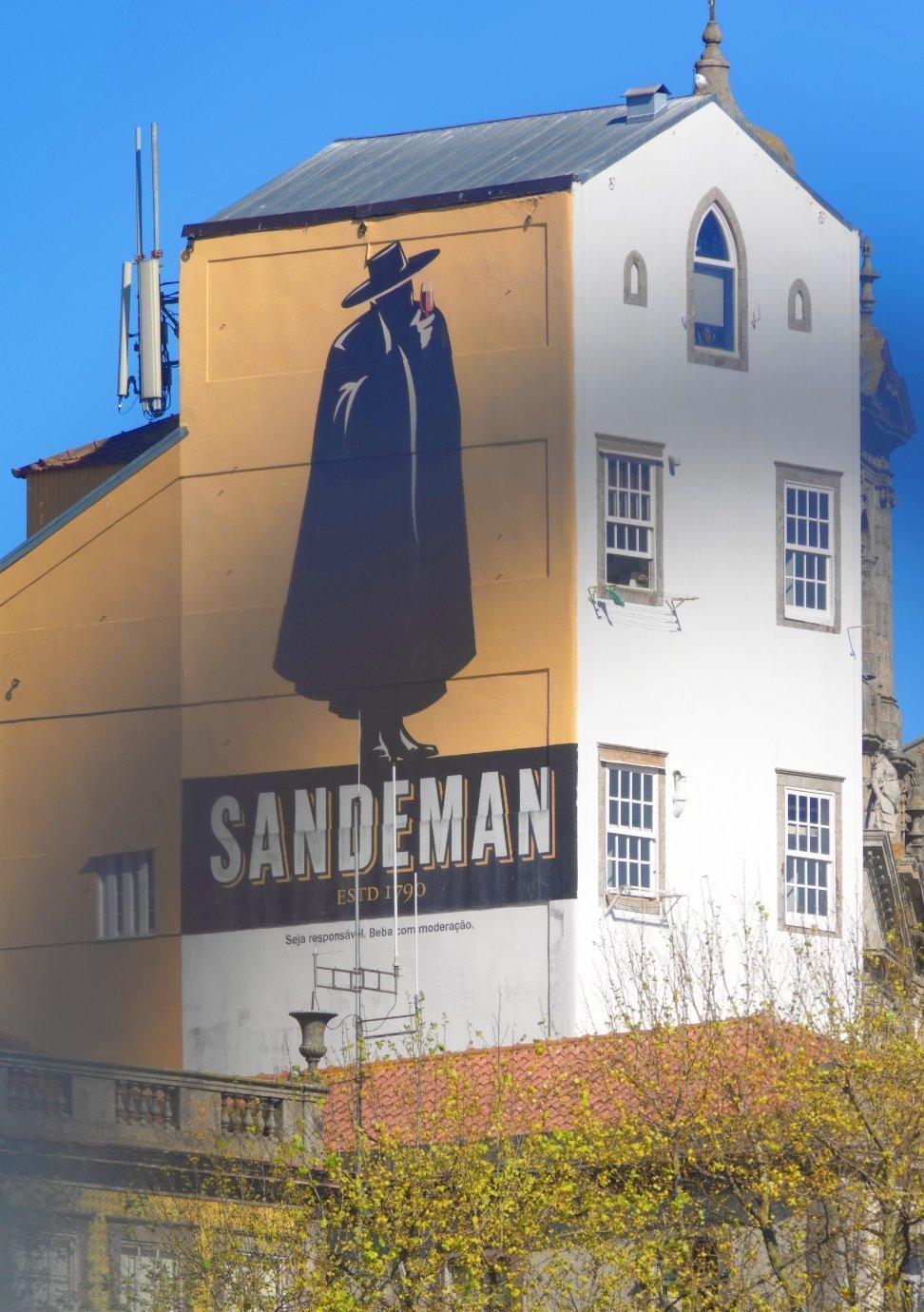 Sandeman Werbefigur