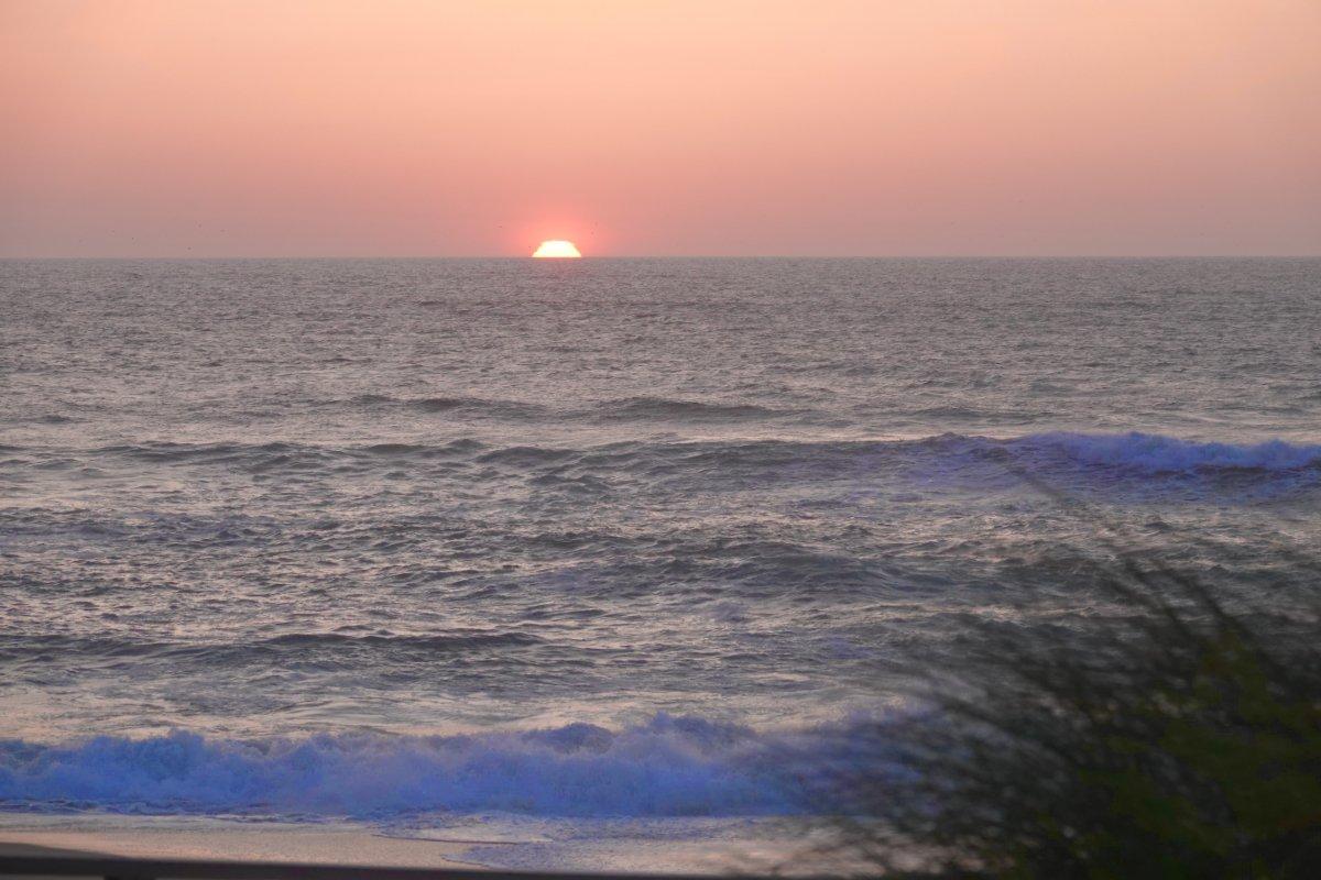 Sonnenuntergang in Costa Nova
