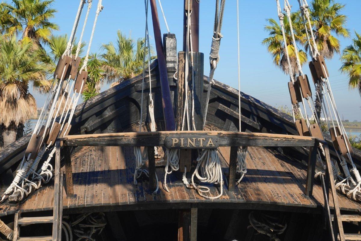 Vorschiff der Pinta