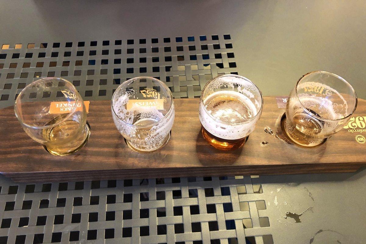 Bierprobierbrett